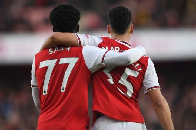 Bukayo Saka reveals secret behind Gabriel Martinelli partnership ...