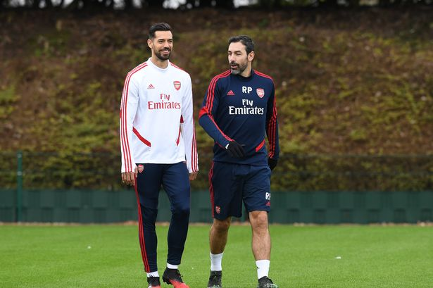 arsenal training session after joining