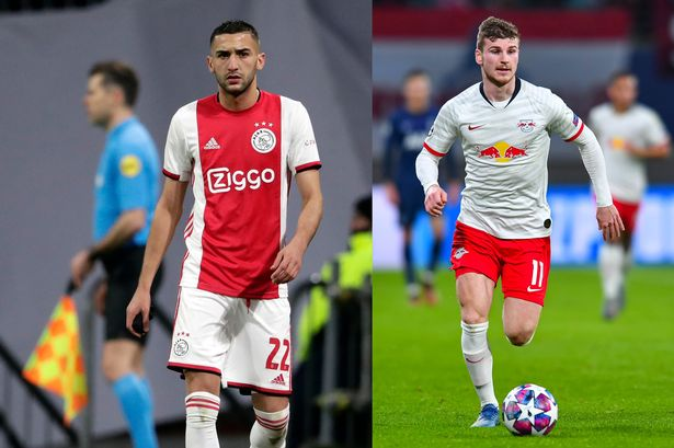 Frank Lampard reveals Chelsea training plans for Timo Werner and ...