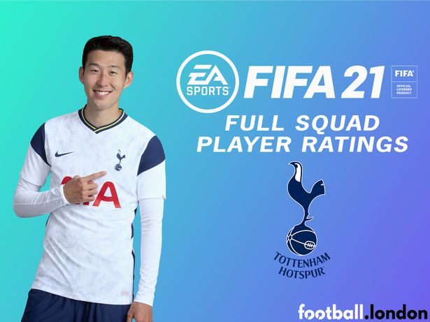 FIFA 21 ratings: Tottenham squad player ratings confirmed on Ultimate Team