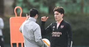 Mikel Arteta may have already opened the door for the transfer of Hector Bellerin ahead of this summer