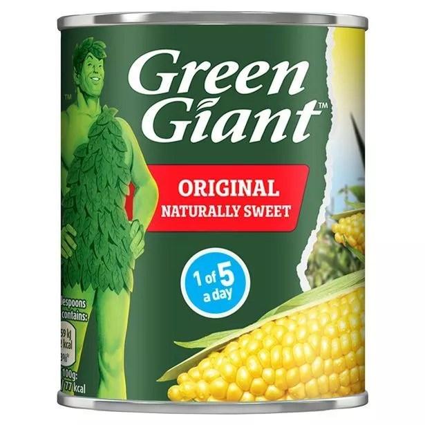 Original giant green sweet corn