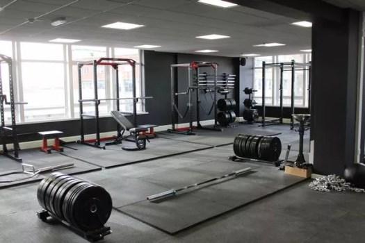 Inside Rise gym