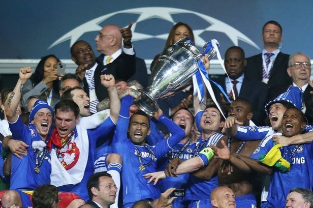 Image result for champions league final 2012