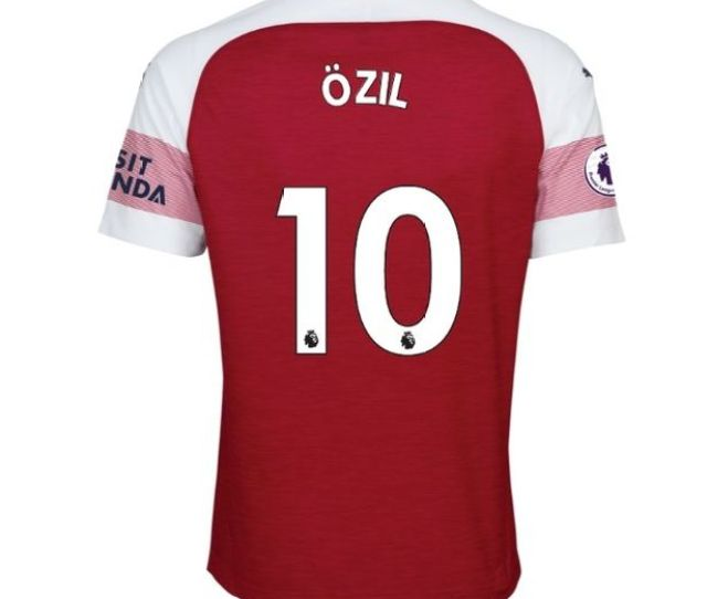 How The New Shirt Will Look Image Arsenal Fc