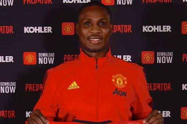 Image result for odion ighalo man utd
