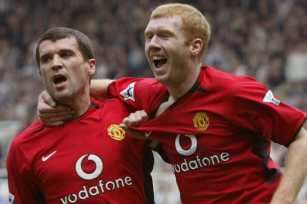 How Paul Scholes responded to Roy Keane leaving him out of his ...