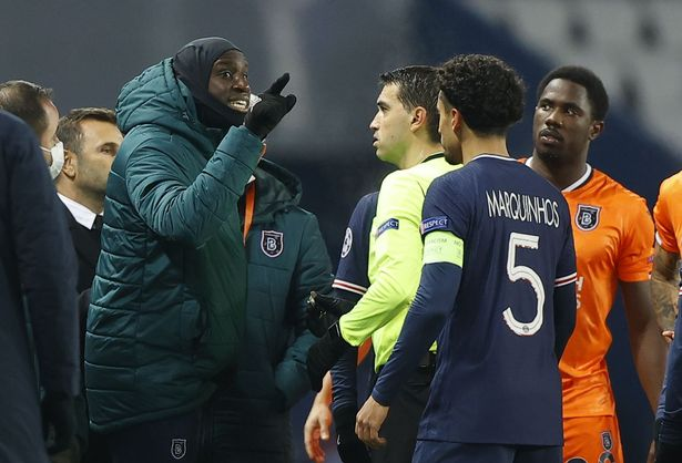 PSG vs Istanbul Basaksehir game abandoned after fourth official accused of  racism - Irish Mirror Online