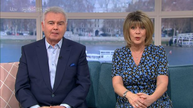 Eamonn this Friday morning with his wife Ruth Langsford