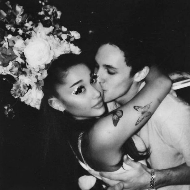 Ariana Grande and Dalton Gomez were married in secret on May 17