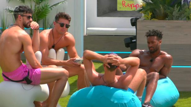 Hugo's confession to the boys led to frustration from Love Island fans