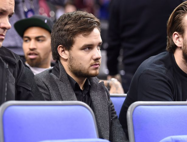 Liam Payne at the NBA Global Games match between New York Knicks and Milwaukee Bucks, 02 Arena London