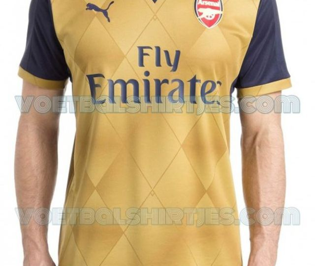 Alleged Leaked Puma Away Football Kit Of Arsenal Fc