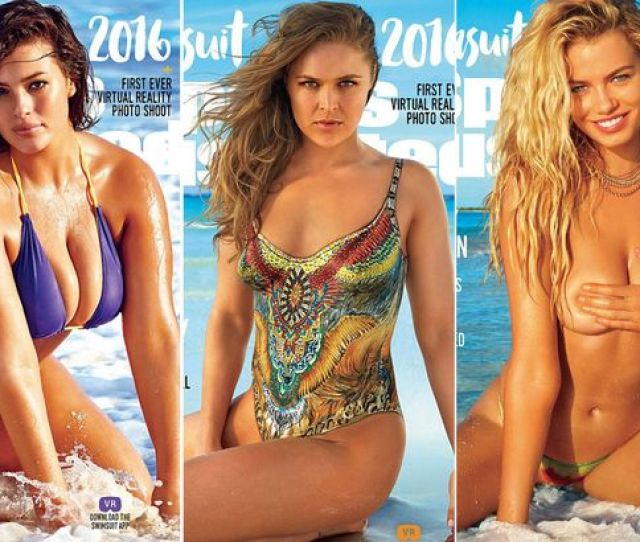 Ronda Rousey Joins Plus Size Model Ashley Graham And Hailey Clauson On The Swimsuit Issue Of Sports Illustrated