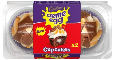 You can now buy Creme Egg cupcakes just in time for Easter