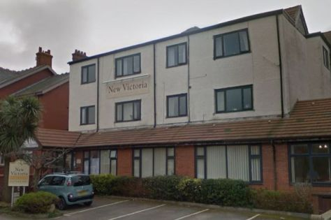 New Victoria Nursing Home in Hornby Road, Blackpool