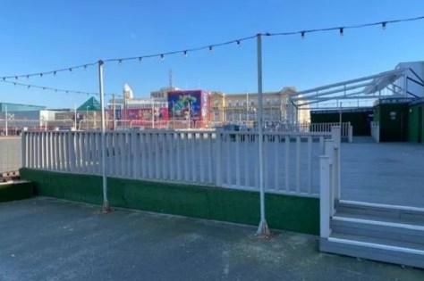 The Terrace Bar in Blackpool