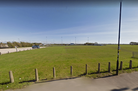 Emergency services were called to the playing fields off School Road and Jepson Way