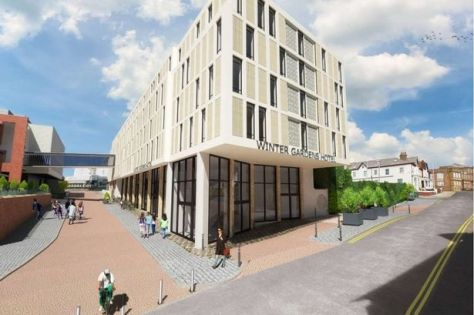 The proposed Winter Gardens Hotel