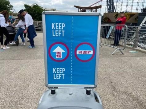 """""""Keep left"""""""