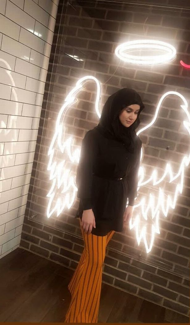 Aya Hachem has been described as a 'beautiful angel' by her family