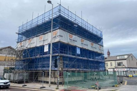 The former Hop Inn pub is being transformed in to a dentist