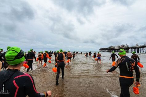 The Pier to Pier open water swim
