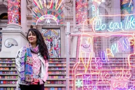 Dr Chila Burman, Winter Commission for Blackpool Illuminations