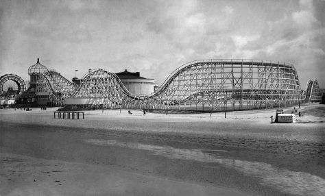 Big Dipper from sea wall in 1923