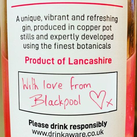 Blackpool Rock Gin is a true Lancashire gin