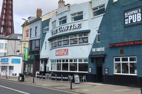 The Castle on Central Drive Blackpool opened at 10am