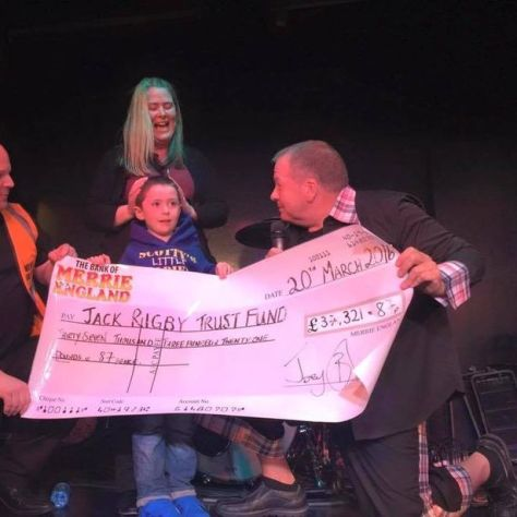 Comedian Joey Blower has raised almost £1m for different charities in his career