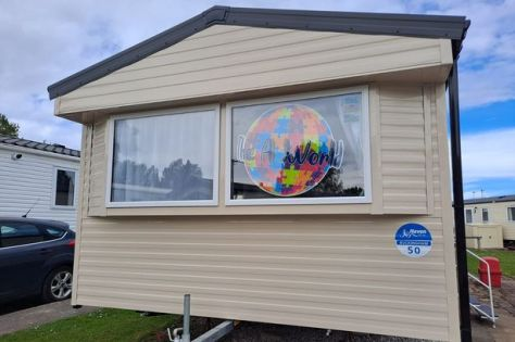 The A World UK is providing a fully-funded caravan for those with an autism diagnosis