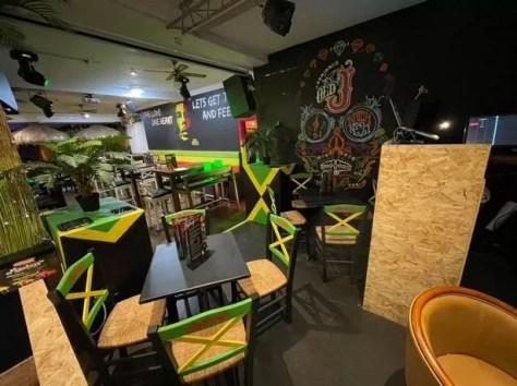Inside Marley's Rum bar on North Promenade, Blackpool