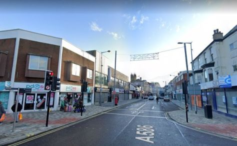 Abingdon Street in Blackpool falls into the Talbot Ward