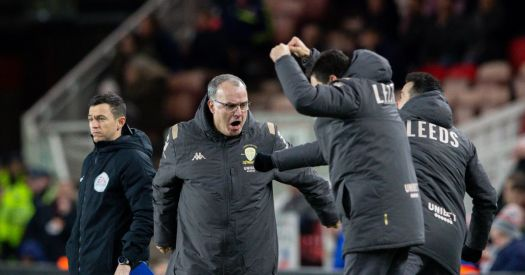 'Bielsa is God!' - Fans go crazy as Leeds United seal ...