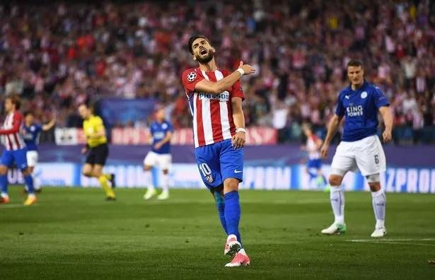 Yannick Carrasco of Atletico Madrid