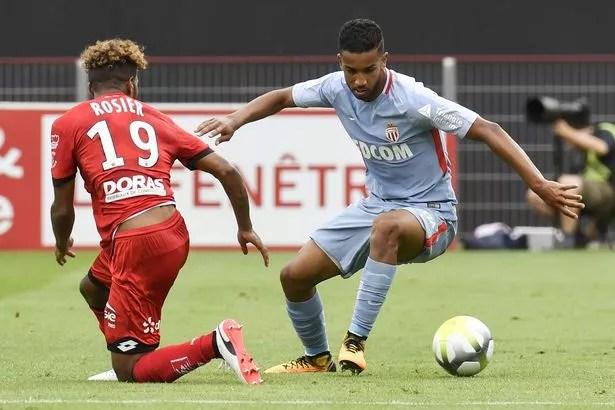 Monaco's French midfielder Thomas Lemar