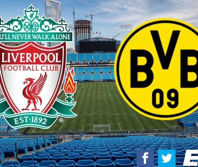 Liverpool   Borussia Dortmund As It Happened As Van Dijk Nets And Joel Matip Is Injured Liverpool Echo