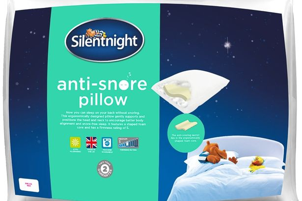 12 anti snore pillow from asda