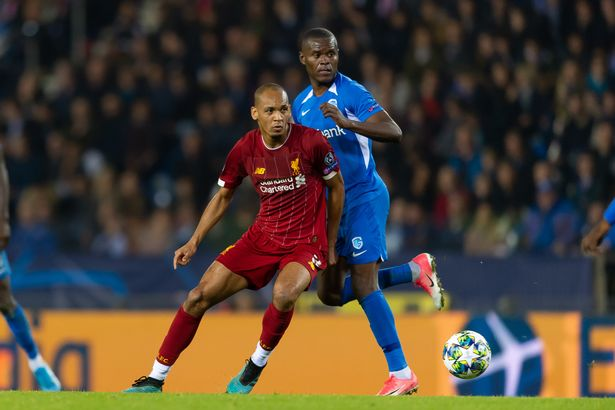 Fabinho is almost certain to return for Liverpool against Genk