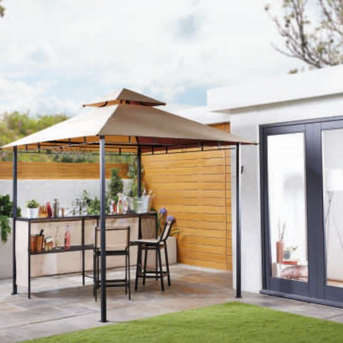 aldi is releasing an outdoor bar and