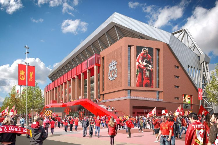 This Is Anfield: The new look Liverpool FC stadium artist ...