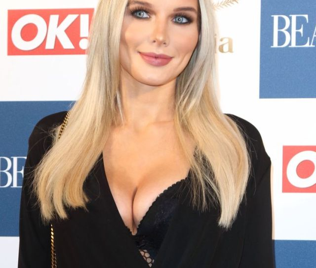 Coronation Streetcorries Helen Flanagan Looks Almost Unrecognisable As She Rocks A Very Lowcut Jumpsuit At Beauty Bash