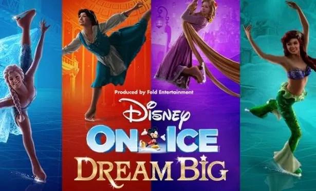 Image result for disney on ice dream big 2018