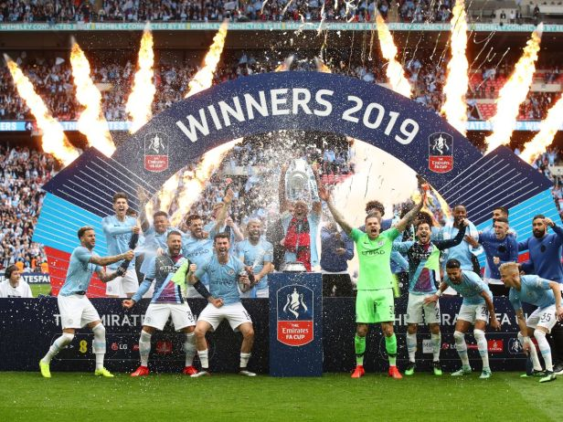 Man City's timeline to English football history after clinching FA ...