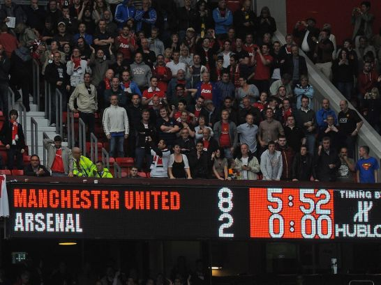 Where are Manchester United's starting XI that beat Arsenal 8-2 in 2011  now? - Manchester Evening News