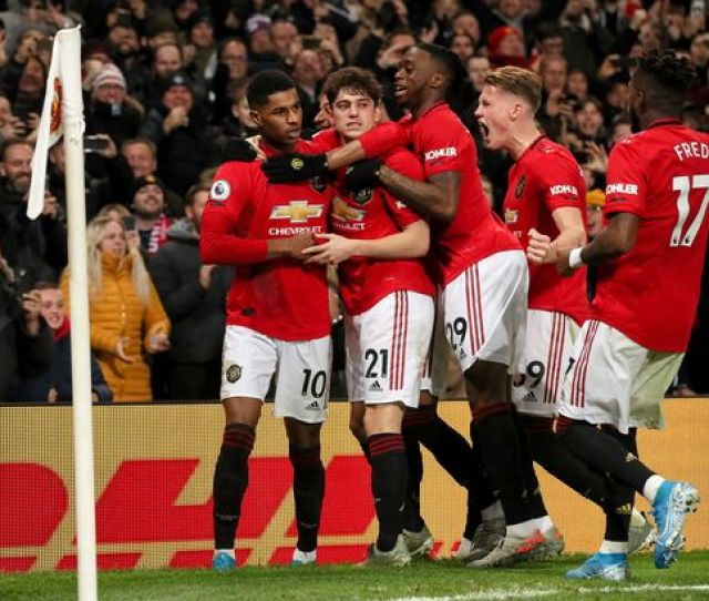 How Manchester United Should Line Up Vs Man City In Manchester