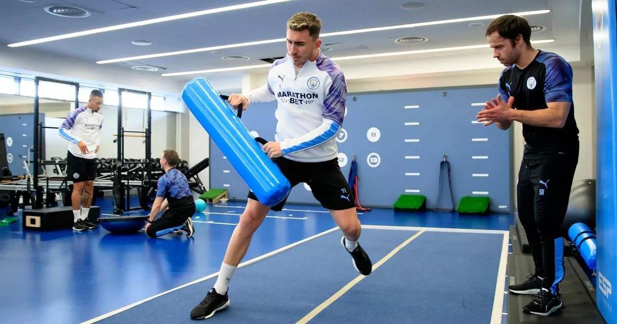 Pep Guardiola warns Man City of Aymeric Laporte's return