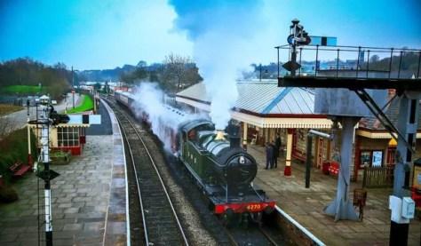 East Lancashire Railway Line